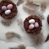 One For the Kids: Easter Tiffin Nests