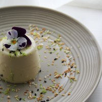 Coconut and Lemongrass Panna Cotta