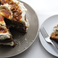 Orange, Parsnip and Ginger Cake