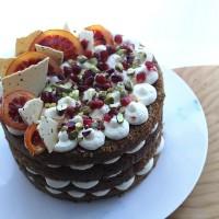 Blood Orange and Ginger Celebration Cake