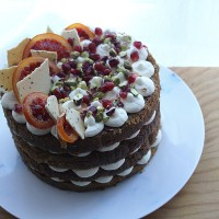 Blood Orange and Ginger Celebration Cake