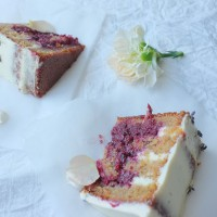Blackberry, Hazelnut and Lavender Honey Celebration Cake