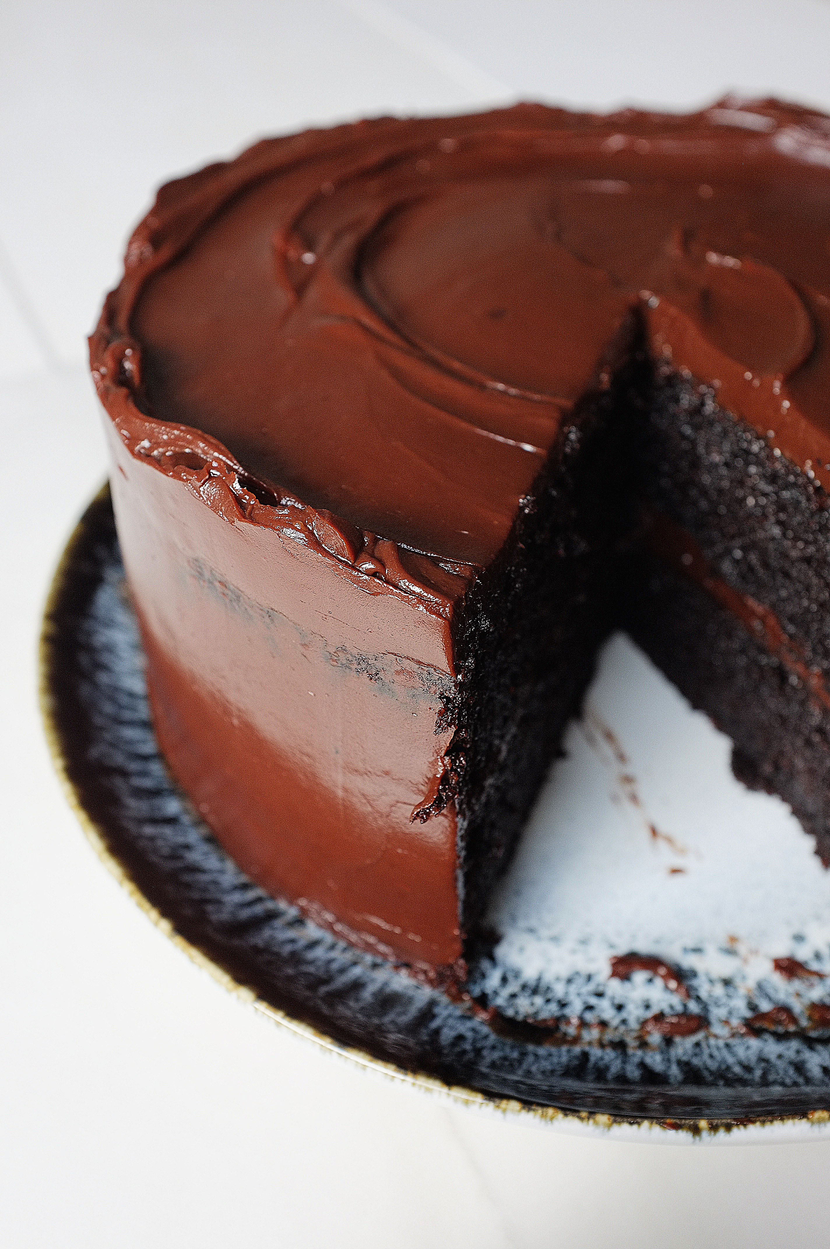 Classic Chocolate Fudge Cake Gluten Free Tassybakes