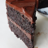 Classic Chocolate Fudge Cake (Gluten Free)