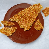 Sesame, Miso and Chocolate Tart (Vegan)