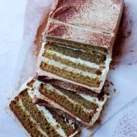 Tiramisu Loaf Cake